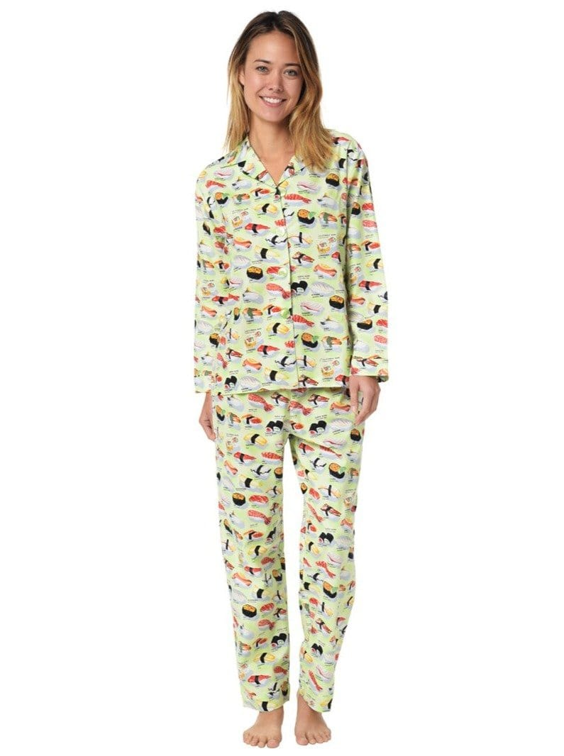 Model wearing Sushi Cotton Pajama