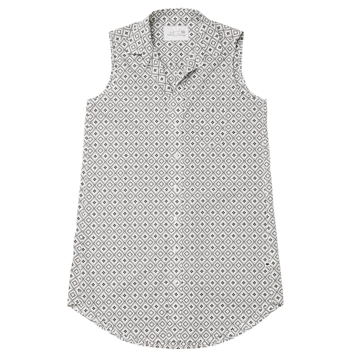 Barrington Luxe Pima Sleeveless Night Shirttest