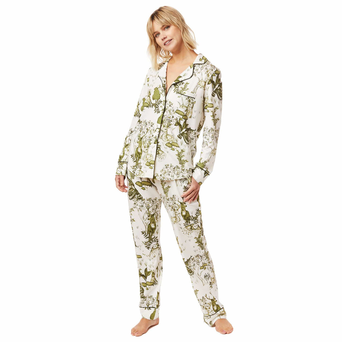 Woodside Pima Knit Pajamatest
