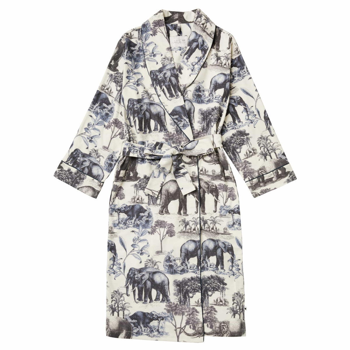 Safari Toile Pima Flannel Robetest