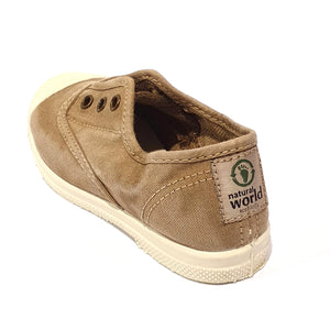 Natural World Beige Enz 621 scarpa eco