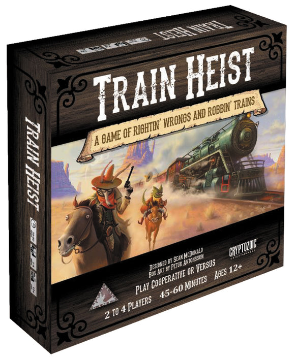 Train Heist: The Board Game