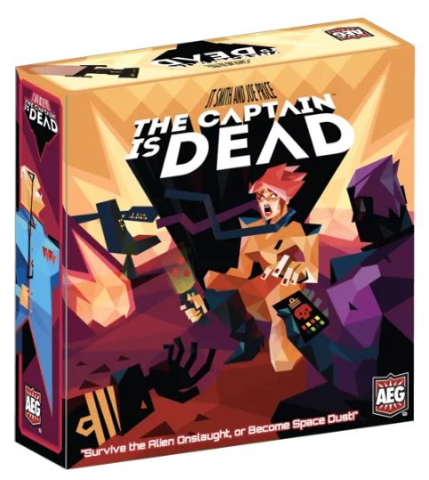 The Captain is Dead: The Board Game