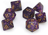 Chessex Basic Dice 7-Die Polyhedral Set(s)