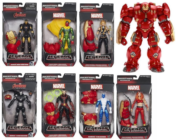 Marvel Legends: Hulkbuster Wave