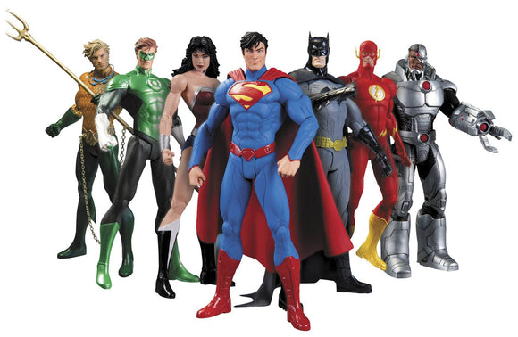 Justice League New 52 Action Figure Box Set