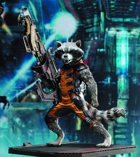 Guardians of the Galaxy: Rocket Raccoon AHV Statue