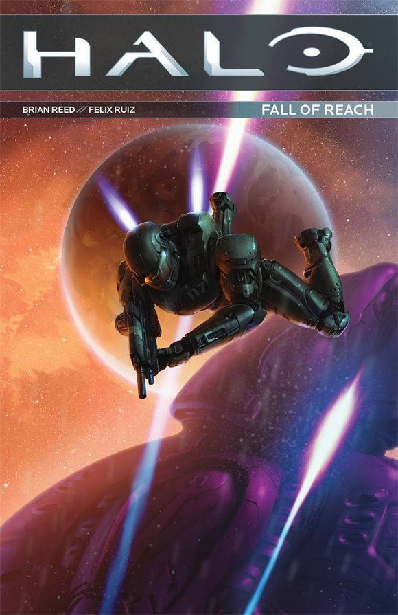 Halo: Fall of Reach Graphic Novel