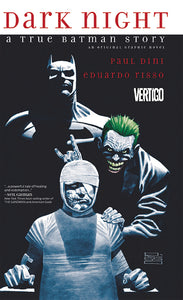 Dark Knight: A True Batman Story Hard Cover