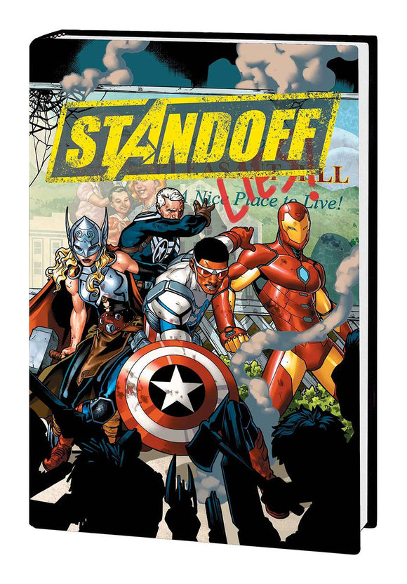Avengers: Standoff Hard Cover