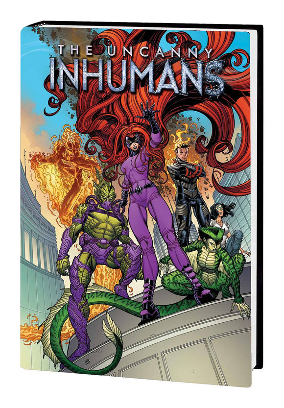 Uncanny Inhumans Hard Cover