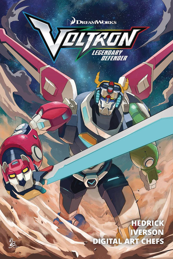 Voltron: Legendary Defender Trade Paperback