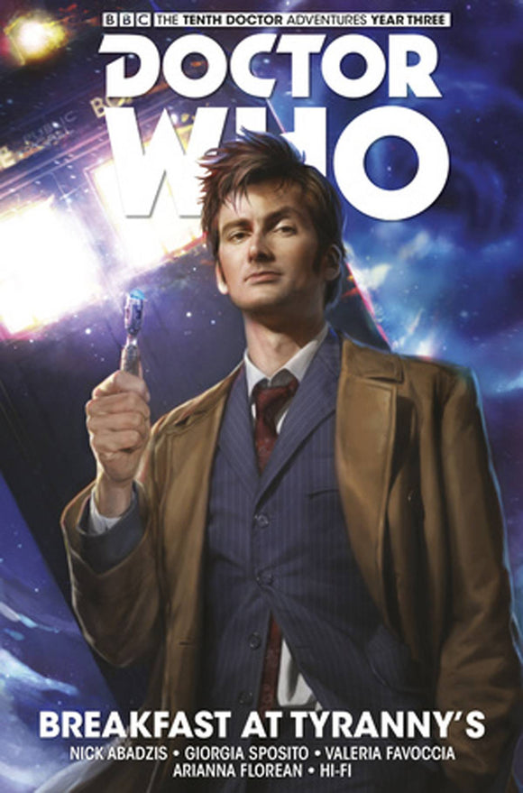 Doctor Who - 10th Doctor: Facing Fate Hard Cover