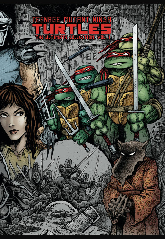Teenage Mutant Ninja Turtles Ultimate Collection Trade Paperback