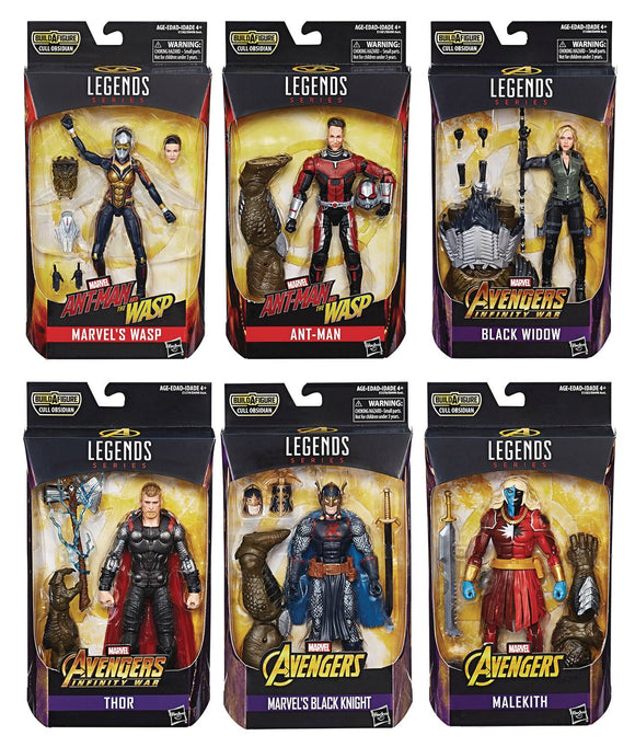 Marvel Legends: Cull Obsidian Wave