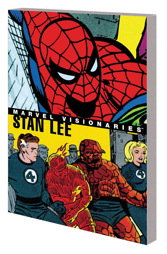Marvel Visionaries: Stan Lee Trade Paperback