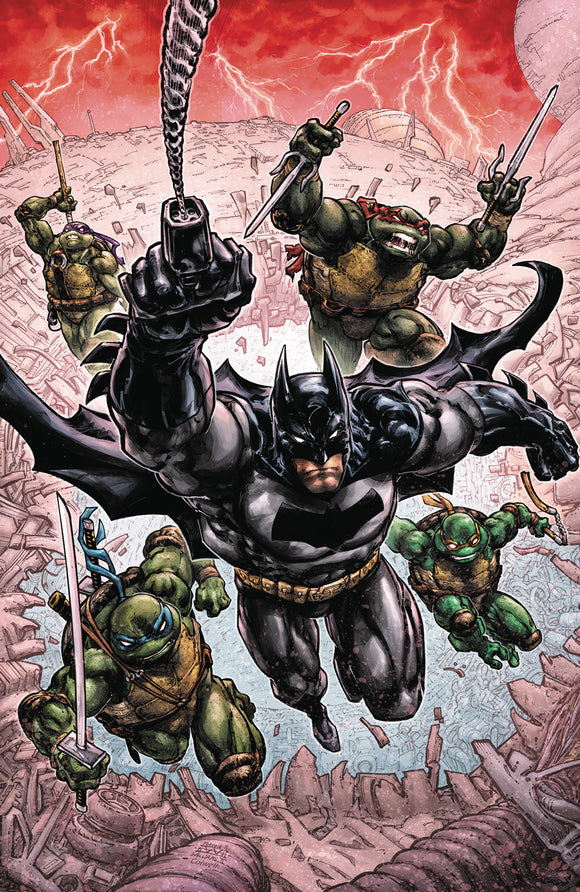 Batman | TMNT III Hard Cover