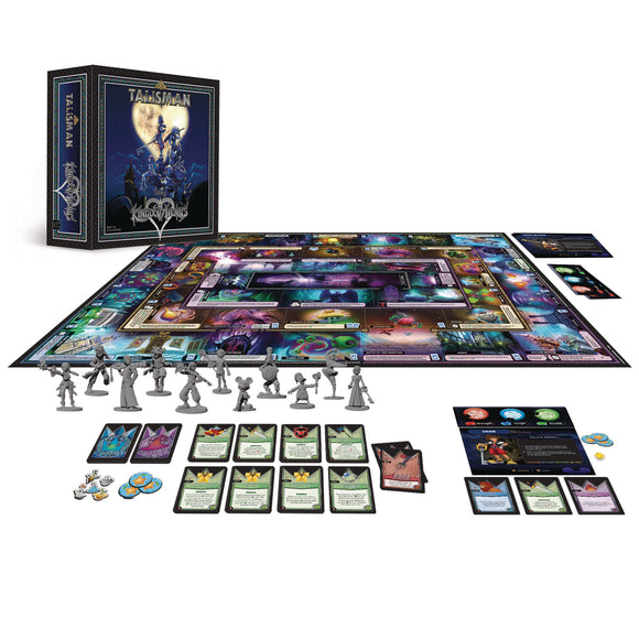 Talisman Board Game: Kingdom Hearts Edition