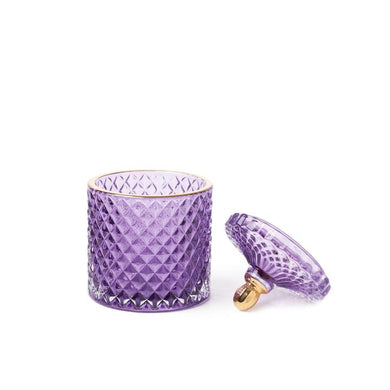 Royal Purple Moulin Rouge 2 Wick Candle - WORKABEE CANDLES, LLC
