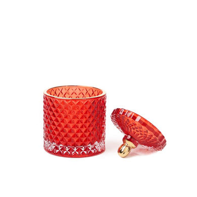 Ruby Red Moulin Rouge 2 Wick Candle - WORKABEE CANDLES, LLC