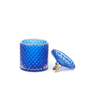 Sapphire Moulin Rouge 2 Wick Candle - WORKABEE CANDLES, LLC