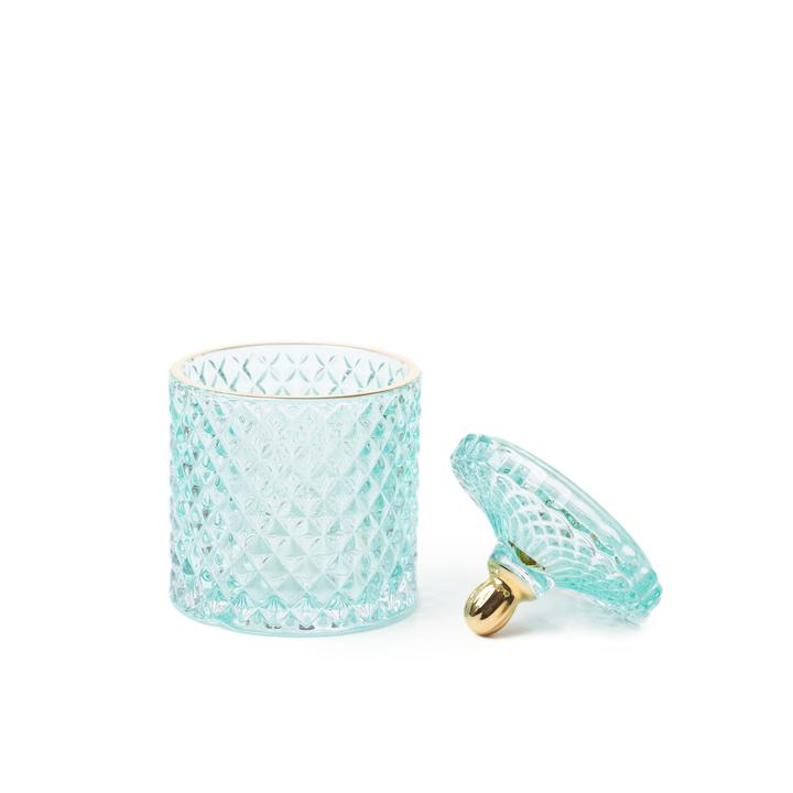 Tiffany Blue Moulin Rouge 2 Wick Candle - WORKABEE CANDLES, LLC
