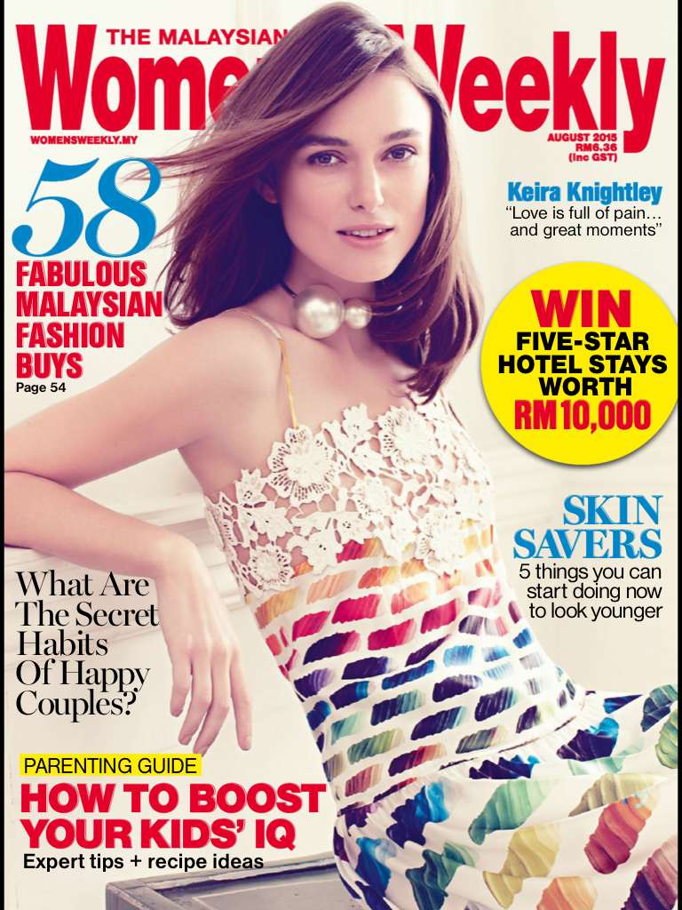 MALAYSIAN WOMEN'S WEEKLY AUGUST 2015