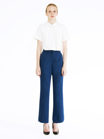 Flared Boot Leg Trousers