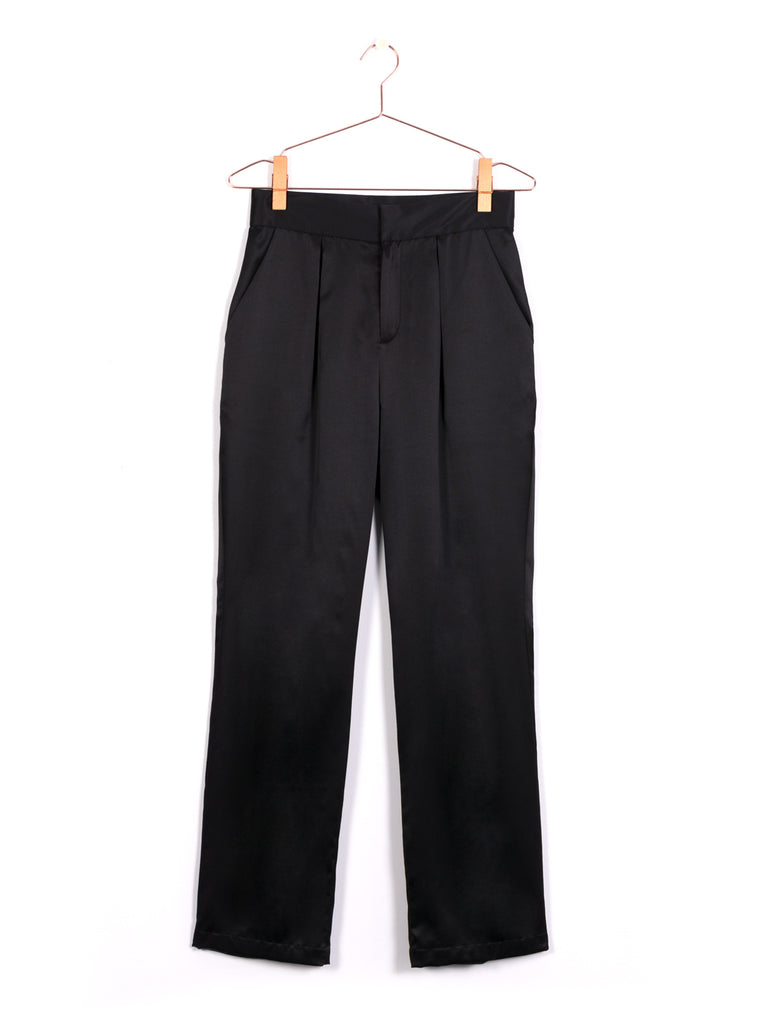 Soft Pleat Trousers