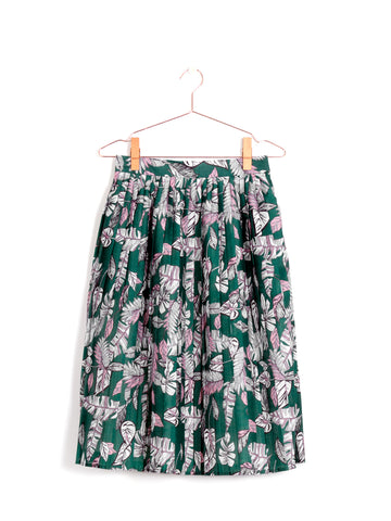 Amalia Pleated Midi Skirt