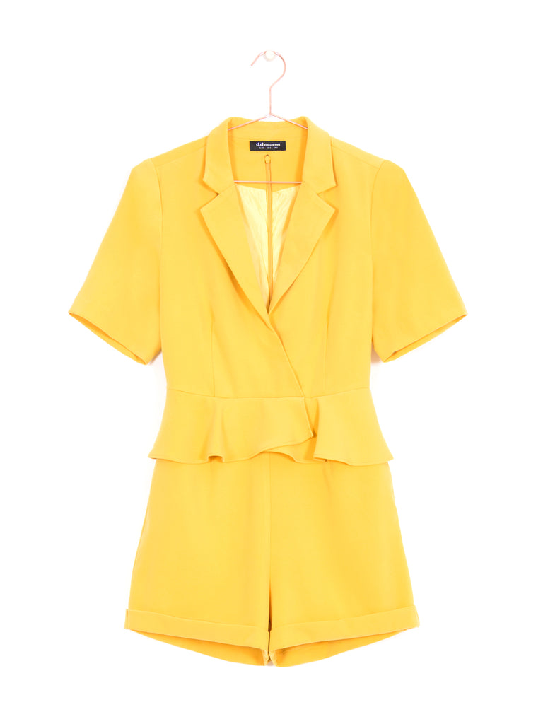 Blazer Peplum Playsuit