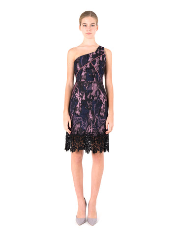 Deja Combined Lace Dress