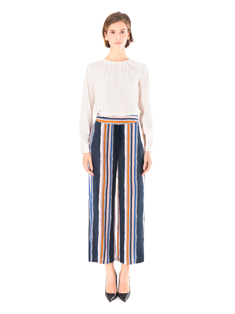 Stripe Washed Trousers