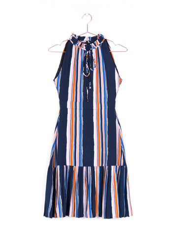 Stripe Washed Midi Dress