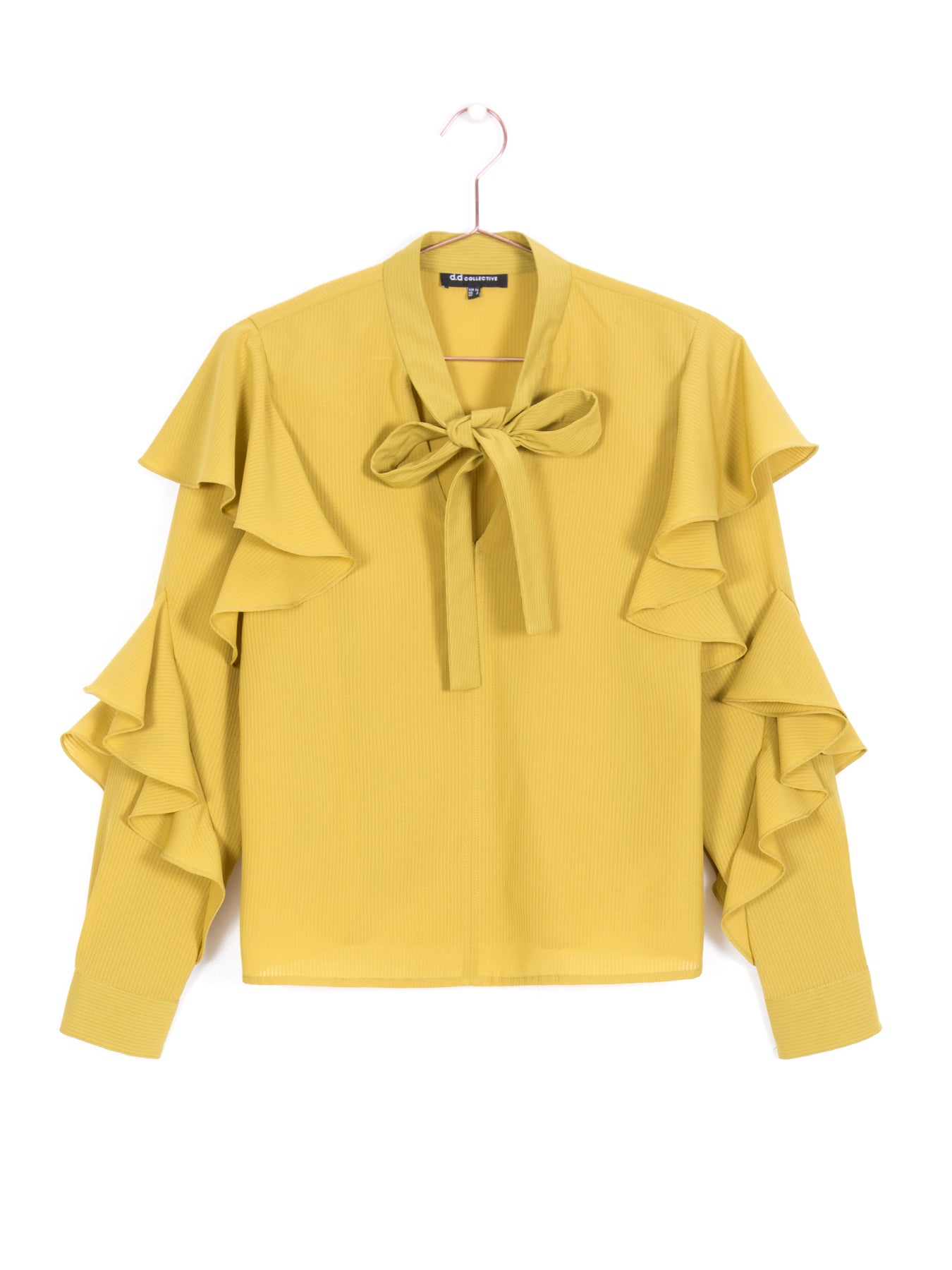 987add479c59b4 Risa Ruffled Sleeve Blouse – d.d collective