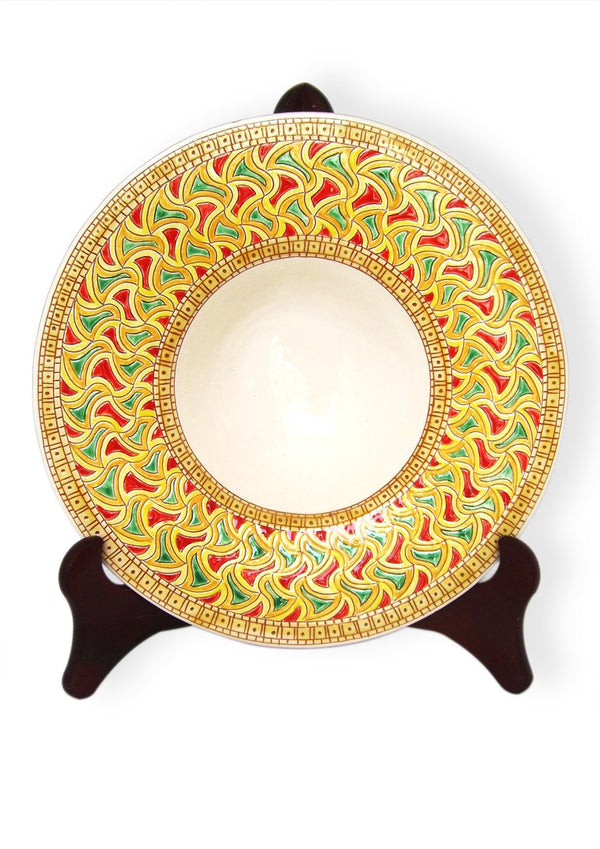 """Priest's hat"" plate - E-gall"