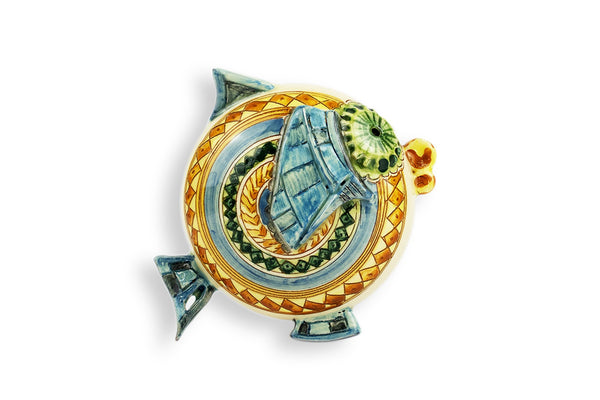 Animal decoration: Fish figurines I Wall art - E-gall
