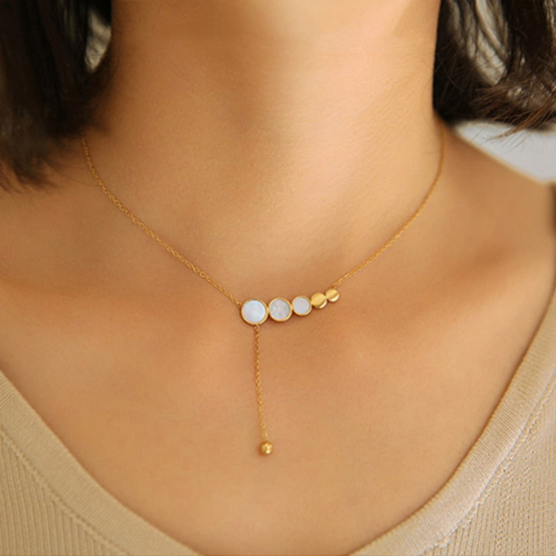 Small Circles Necklace