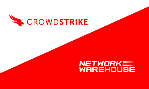 NETWORK WAREHOUSE JOIN FORCES WITH SECURITY MARKET LEADER CROWDSTRIKE