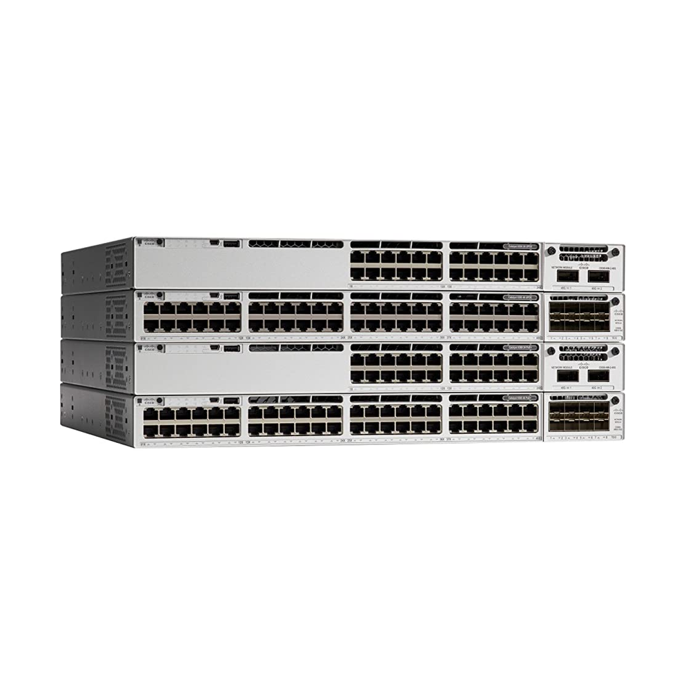 Cisco Catalyst 9300L Fixed Uplink Switch  |  C9300L-24T-4X-A