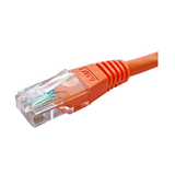 Premium 4m Cat6 RJ45 Grey U/UTP PVC 24AWG Flush Moulded Booted Patch Lead - Network Warehouse