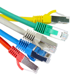 0.5m Cat6a S/FTP LSOH Snagless Patch Lead - Network Warehouse