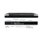"DSX2-32M-DC Raritan 32-port serial console server with dual-power DC and dual gigabit LAN. Serial, USB and KVM local console ports. 19"" rack mount kit. Internal telephone modem - Network Warehouse"