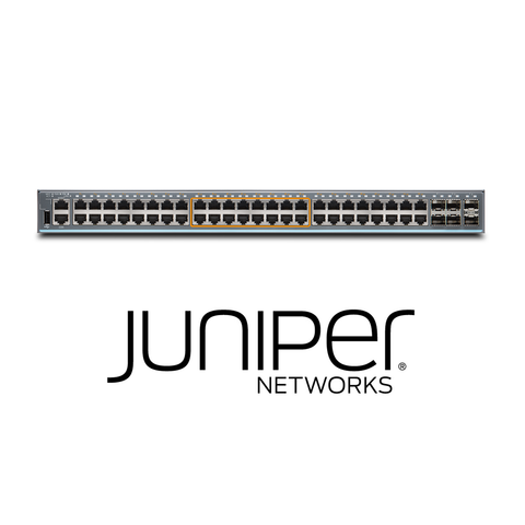 Juniper EX2300-48MP Switch | 32 x 1G Ports + 16 x 1G/2.5G Copper Ports | 30W PoE - Network Warehouse
