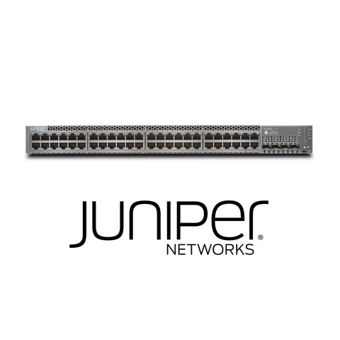 Juniper EX2300-48P Switch | 48 x 10/100/1000BaseT PoE+ | 4 x 1/10G SFP/SFP+ (Optics Sold Separately) - Network Warehouse
