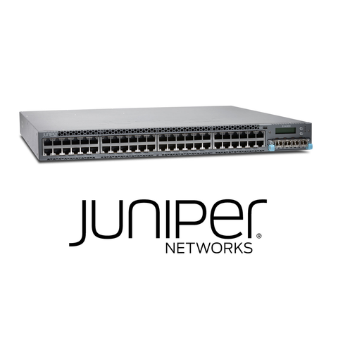 Juniper EX4300-24P Switch | 24 x 10/100/1000BaseT PoE+ | 715W AC PS - Network Warehouse