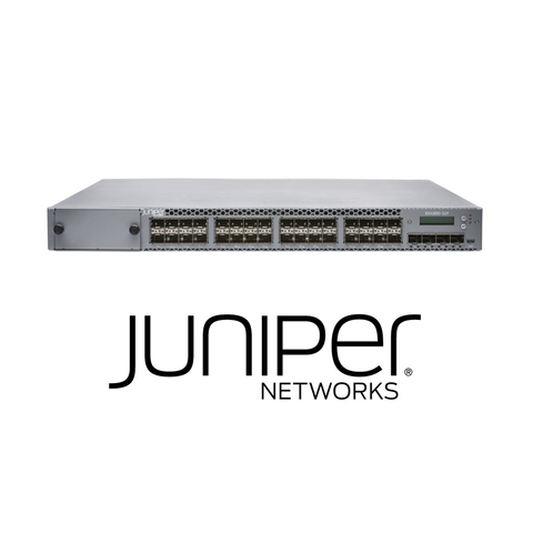 Juniper EX4300-32F Switch | 32 x 1000BaseX SFP | 4 x 10GBaseX SFP+ | 350W AC PS | Optics Sold Separately - Network Warehouse
