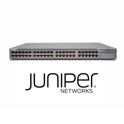 Juniper EX4300-48MP Switch | 24 x 1G | 24 x 100M/1G/2.5G/5G/10G Copper Ports | 9W PoE Power | 1400W AC PS - Network Warehouse