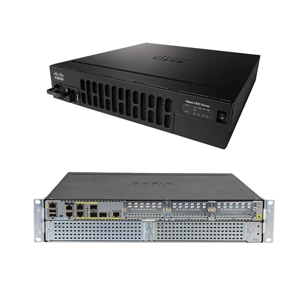 Cisco Integrated Services Router | ISR4351/K9 - Network Warehouse