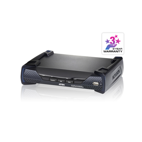 Aten KA6940R | USB DVI-I Dual Display KVM Over IP Receiver - Network Warehouse